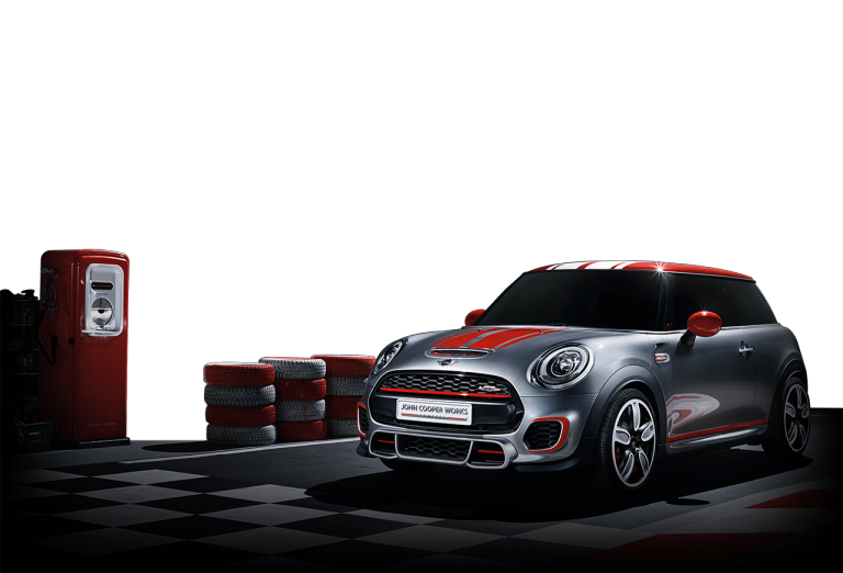 MINI John Cooper Works Concept front-diagonal profile
