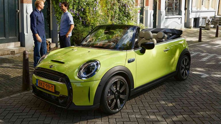 MINI Cooper S Convertible – front view – model comparison