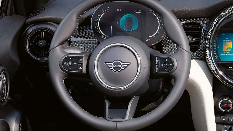 MINI Convertible – steering wheel – nappa leather
